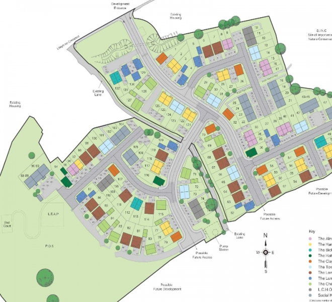 Sycamore site plan